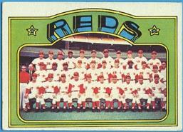 1972 Topps Baseball Cards      651     Cincinnati Reds TC